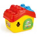 wholesale Blocks & Construction: Clemmy soft  building blocks box házikós