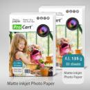 groothandel Printers & accessoires:Fotopapier matte A3 135g