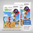 groothandel Printers & accessoires: Matte Photo Paper  220g dubbelzijdig A3, 50 vel