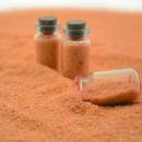 Großhandel Zubehör & Ersatzteile: Glow in the dark  orange Sand 250 Gramm