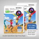 groothandel Printers & accessoires: Dual side mat  10x15 fotopapier, 250g, 100 vel