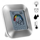 Großhandel Heizung & Sanitär: Beleuchtete Digitaluhr mit Hygrometer