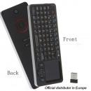 grossiste Electronique de divertissement: mini-clavier sans fil Rii avec i6 télécommande IR