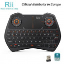 wholesale Batteries & Accumulators: Mini Wireless Keyboard i28C, Black, Rii