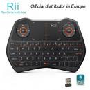 mayorista Baterias y pilas: Mini teclado inalámbrico i28C, negro, Rii