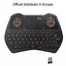 wholesale Music Instruments: Mini wireless  backlit keyboard & AirMouse i28 Rii