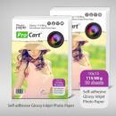 groothandel Printers & accessoires: High Glossy  zelfklevend  fotopapier 115/80 ...