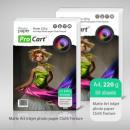 Bussines card textile texture Paper 50 pcs 220g