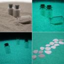 ingrosso Accessori e ricambi: Glow fosforescenti 250grams aqua sabbia