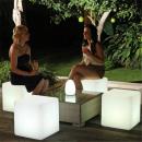 nagyker Elektronikai termékek: Cube széklet RGB LED, távirányító, IP65, 40x40 cm