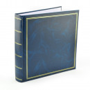 grossiste Cadeaux et papeterie: Album photo Classique, 500 images, 10x15, Bleu