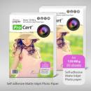 groothandel Printers & accessoires: Zelfklevende mat  fotopapier 120/80 g A4, 50 stuks