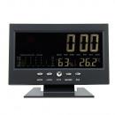 Großhandel Heizung & Sanitär: Digital LED Uhr mit Hygrometer, LCD 5,3 Zoll