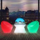 wholesale furniture: RGBW LED lighting armchair, 74x80 cm, IP54, remote