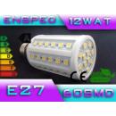grossiste Ampoules: ampoule à LED E27  60 SMD, puissance 12W