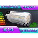 Großhandel Leuchtmittel: LED-Birne LED E14 44 SMD-Power-9W