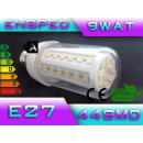 groothandel Verlichting: LED-lamp LED E27 44 SMD macht 9W