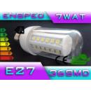 Großhandel Leuchtmittel: LED-Birne LED E27 36 SMD-Power-7W