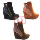 Otoño invierno  patea los zapatos de las mujeres