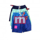 wholesale Swimwear: Men's Badges Shorts Swimwear Gr. M-XXXL