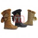 groothandel Schoenen: Kinderen bont laarzen Schoenen Boots Gr. 31-36
