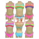 Meisje bikini badmode zwemkleding