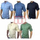 Großhandel Hemden & Blusen: Herren Freizeit  Business Hemden Gr. S-2XL