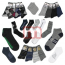 Großhandel Strümpfe & Socken: Herren Socken Strümpfe Füßlinge Mix Gr. 39-46