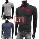 Großhandel Shirts & Tops: Herren Polo Shirts Kurzarm Oberteile T-Shirts