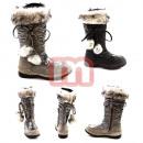 Kinderen herfst  winter bont  laarzen Boots Gr. ...