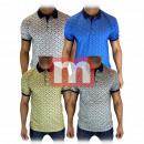 Großhandel Shirts & Tops: Herren T-Shirt Polo-Shirt Oberteil Gr. S-XXL