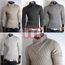 Großhandel Shirts & Tops: Strick Shirt Pullover Langarm Oberteil Gr. M-XXL