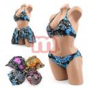 ingrosso Abbigliamento erotico: Sexy bikini donne Costumi da bagno 3 pezzi set