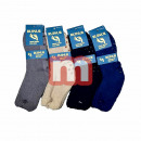 Großhandel Strümpfe & Socken: Herren Thermo Socken Mix Gr. 40-46