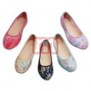 Damen Slipper Halbschuhe Ballerina Schuhe