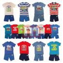 grossiste Vetements enfant et bebe: Garçons été Hauts Pantalons Shorts Set