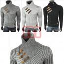 Großhandel Shirts & Tops: Herren Strick  Pullover Langarm Shirts Oberteile