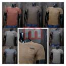 Großhandel Shirts & Tops: Herren Kurzarm T-Shirts Uni Men Shirts