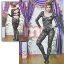 Großhandel Erotik Bekleidung: Sexy Netz Body Dessous Schwarz Underwear Strapse
