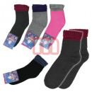 Großhandel Strümpfe & Socken: Damen Thermo Socken Mix Baumwolle