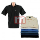 Großhandel Shirts & Tops: Herren Polo Shirts Farbmix Baumwolle