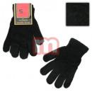 Großhandel Handschuhe: Damen Handschuhe Schwarz Uni