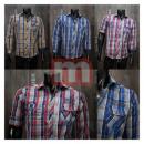 Großhandel Hemden & Blusen: Edle Herren Hemd Shirts Hemden Freizethemd
