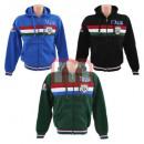 Großhandel Shirts & Tops: Herren Sweat Shirts ITALIA Mix M-XXL