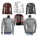 Großhandel Shirts & Tops: Herren Pullover Langarm Shirts Sweater Pulli