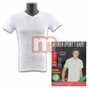 Men's Basic T-shirt short sleeve white rib