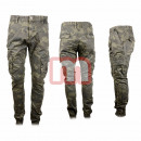wholesale Trousers: Men Leisure  Trousers Army Gr. 28-38