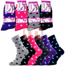 Großhandel Strümpfe & Socken: Damen Socken Strümpfe Mix Gr. 35-40 je 0,36 EUR