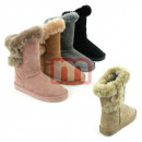 Women fur boots Shoes Fall Winter Boots