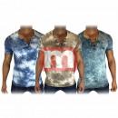 Großhandel Shirts & Tops: Herren Freizeit T-Shirt Oberteil Gr. M-XXL